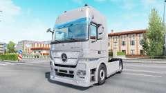 Mercedes-Benz Actros 1860 Study Space Max (MP2) para Euro Truck Simulator 2