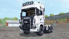 Scania R730 V8 Topline agrotruck para Farming Simulator 2015
