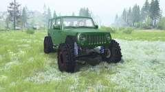 Jeep Wrangler Unlimited (JK) 2007 para MudRunner