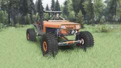 Jeep Wrangler (YJ) 40OZ Juggy para Spin Tires