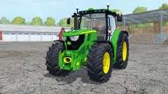 John Deere 6170R frente loadeᶉ para Farming Simulator 2015