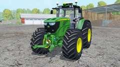 John Deere 6170Ɱ para Farming Simulator 2015