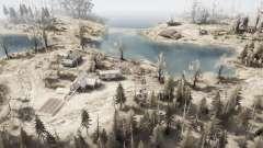 Entre los lagos para MudRunner