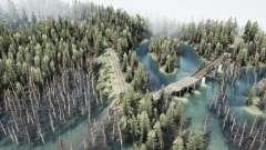 El relato del bosque 2 para MudRunner