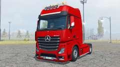 Mercedes-Benz Actros (MP4) flashing light beacon para Farming Simulator 2013