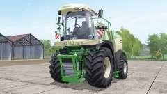 Krone BiG X 580 dinámica hoseʂ para Farming Simulator 2017
