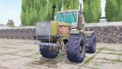 T-150K con la selección del motor para Farming Simulator 2017