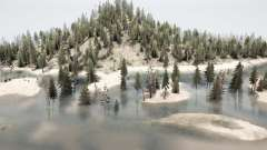 Arboladas colinas para MudRunner