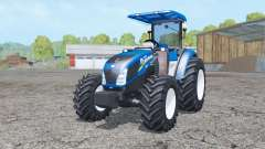 New Holland T4.75 front loader para Farming Simulator 2015