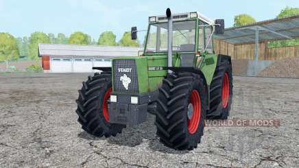 Fendt Favorit 611 LSA Turbomatik loader mounting para Farming Simulator 2015