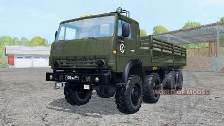 KamAZ-6350 para Farming Simulator 2015