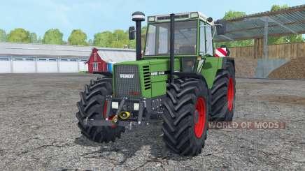 Fendt Favorit 615 LSA Turbomatik working mirrors para Farming Simulator 2015