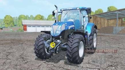 New Holland T7.185 BluePower para Farming Simulator 2015