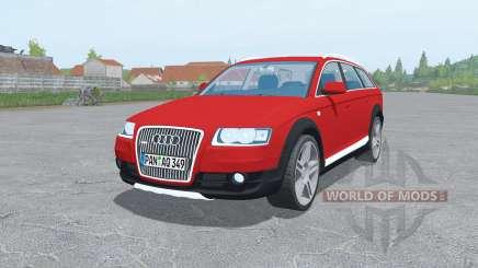 Audi A6 Allroad quattro (C6) 2006 para Farming Simulator 2017