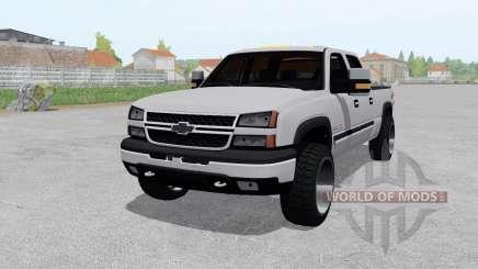 Chevrolet Silverado 2500 HD Crew Cab 2002 para Farming Simulator 2017