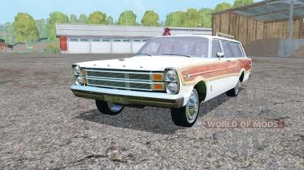 Ford País Squirᶒ 1966 para Farming Simulator 2015