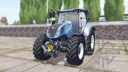 New Holland T6.160 wheels selection para Farming Simulator 2017