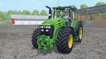John Deere 7930 frente loadeᶉ para Farming Simulator 2015