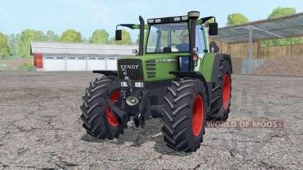 Fendt Favorit 515C Turbomatik front loader para Farming Simulator 2015