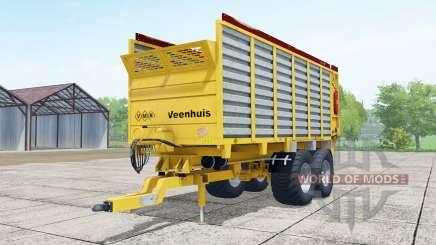 Veenhuis W400 yellow para Farming Simulator 2017