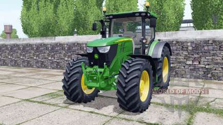 John Deere 6145R animated element para Farming Simulator 2017