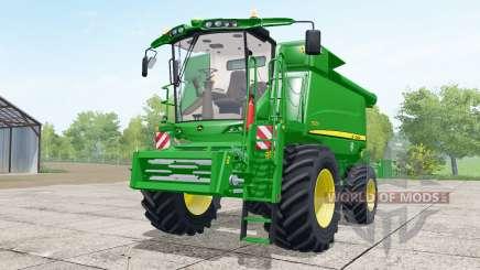 John Deere T670i wheels selection para Farming Simulator 2017