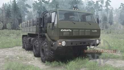 CRA 7Э6316 Siberia para MudRunner