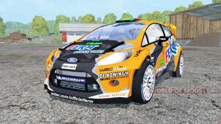 Ford Fiesta S2000 para Farming Simulator 2015