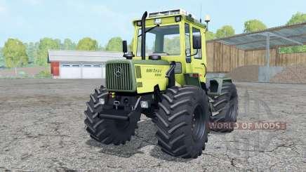 Mercedes-Benz Trac 1100 loader mounting para Farming Simulator 2015