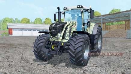Fendt 927 Vario camouflage para Farming Simulator 2015