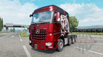Mercedes-Benz Arocs 4163 SLT 2014 para Euro Truck Simulator 2