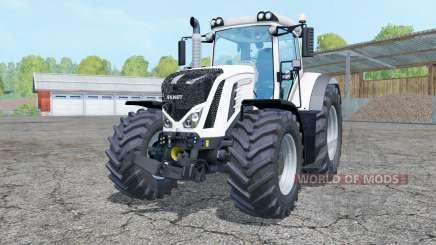 Fendt 927 Vario white para Farming Simulator 2015