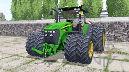 John Deere 7930 double wheels para Farming Simulator 2017