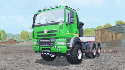Tatra Phoenix T158 6x6 tractor 2011 para Farming Simulator 2015