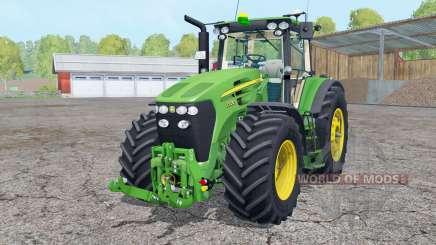 John Deere 7930 frente loadeꞧ para Farming Simulator 2015