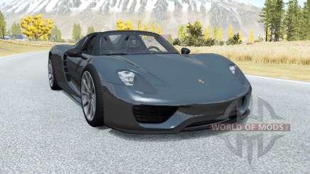 Porsche 918 Spyder 2014 para BeamNG Drive