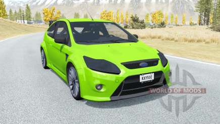 Ford Focus RS (DA3) 2009 para BeamNG Drive
