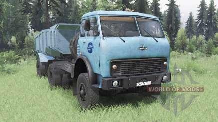 MAZ-504В azul suave para Spin Tires