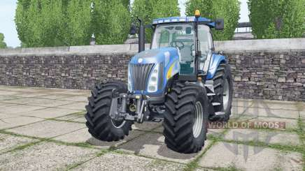New Holland TG285 Michelin tyres para Farming Simulator 2017