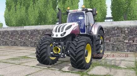 Steyr Terrus 6600 CVT wheels selection para Farming Simulator 2017