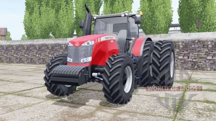 Massey Ferguson 8690 dual rear wheels para Farming Simulator 2017