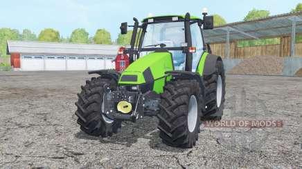 Deutz-Fahr Agrotron 120 Mk3 loader mounting para Farming Simulator 2015