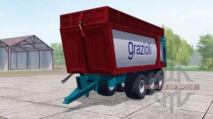 Grazioli Domex 200-6 para Farming Simulator 2017
