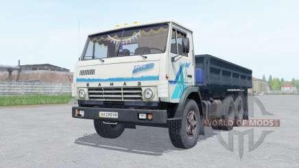 KamAZ 5320 con el trailer NefAZ 8560 para Farming Simulator 2017