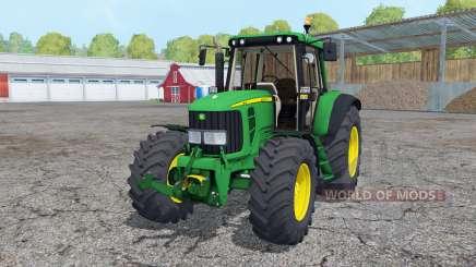 John Deere 6320 2002 para Farming Simulator 2015