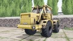 Kirovets K-700A suave color naranja para Farming Simulator 2017