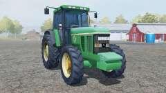 John Deere 7800 add wheels para Farming Simulator 2013