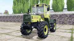 Mercedes-Benz Trac 1000 intercooler para Farming Simulator 2017