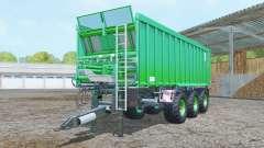 Kroger Agroliner TAW 30 vivid malachite para Farming Simulator 2015