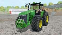 John Deere 8370R pigment green para Farming Simulator 2015